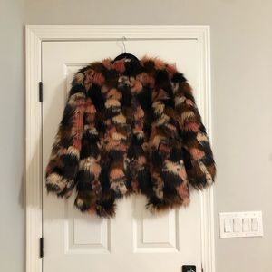 Ecote Urban Outfitters Faux Fur Coat